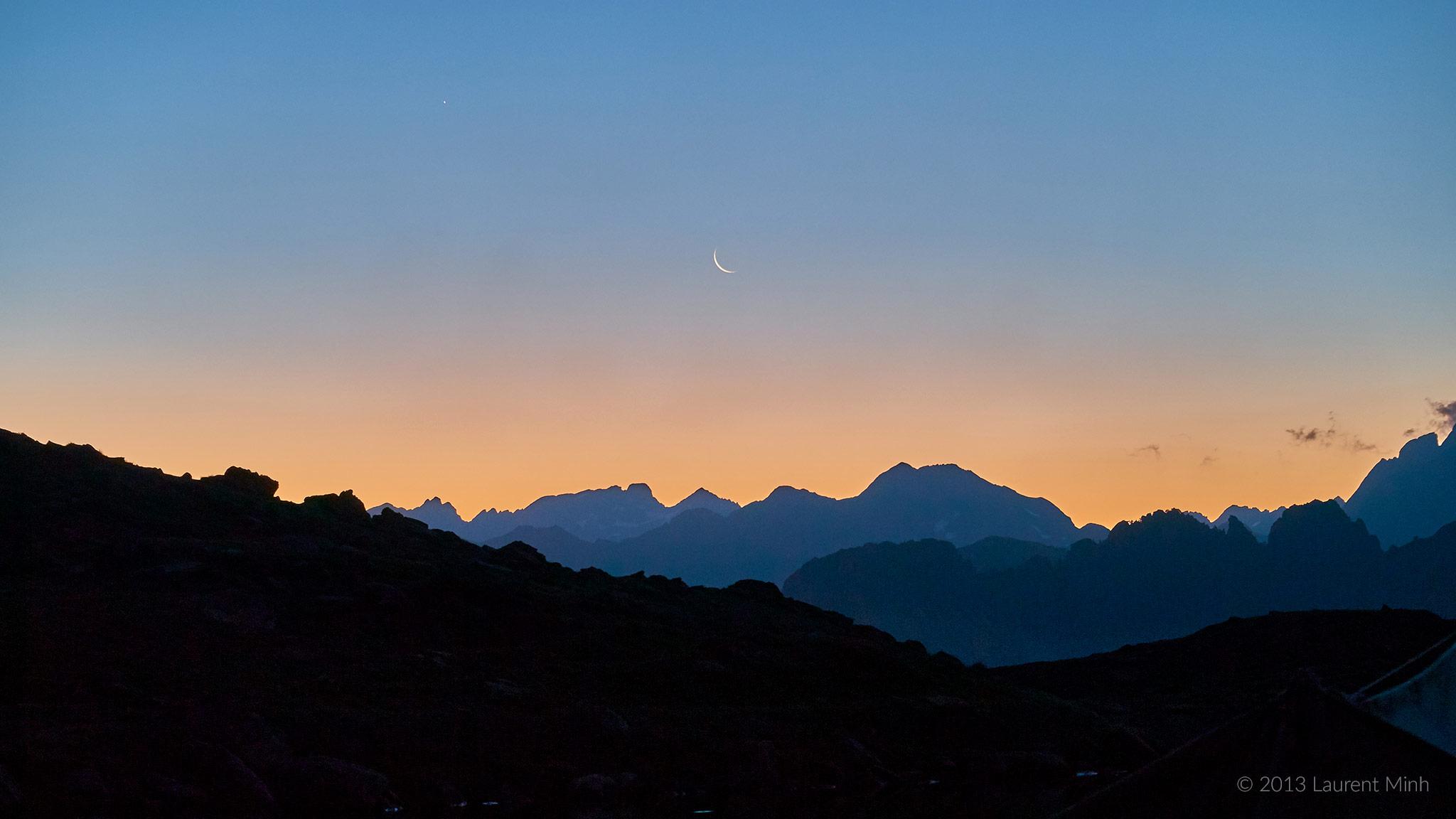 Pyrénées, réveil au lac d'Ayous - Photo © 2013 Laurent Minh